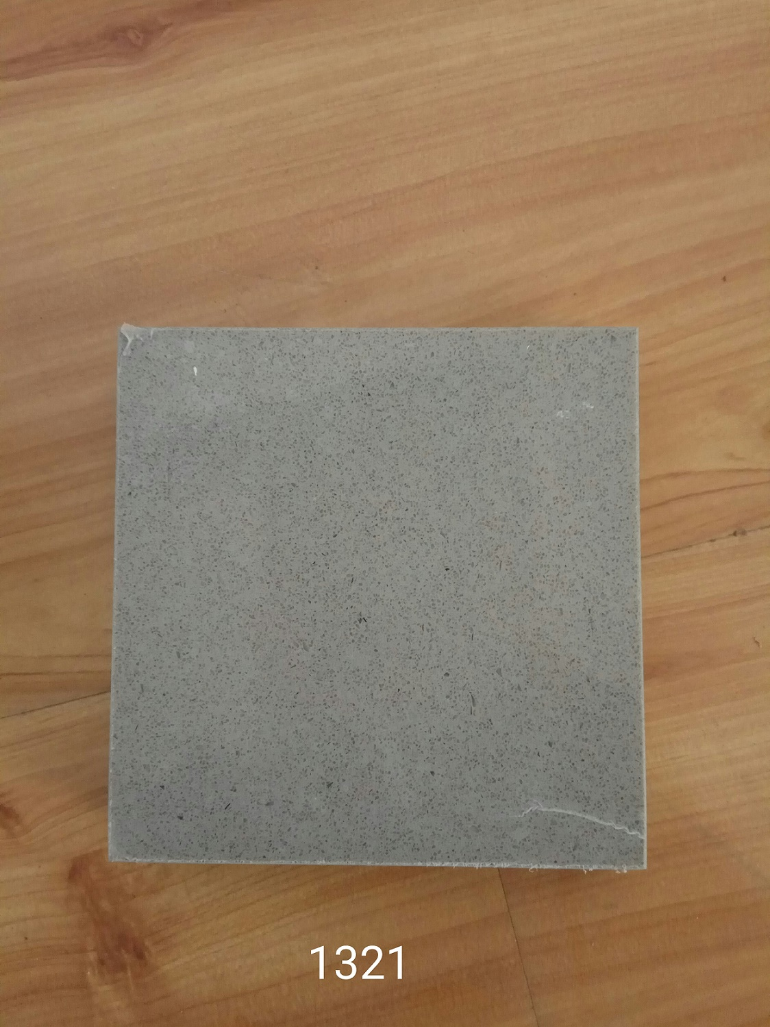 Small grains sky grey color quartz stone