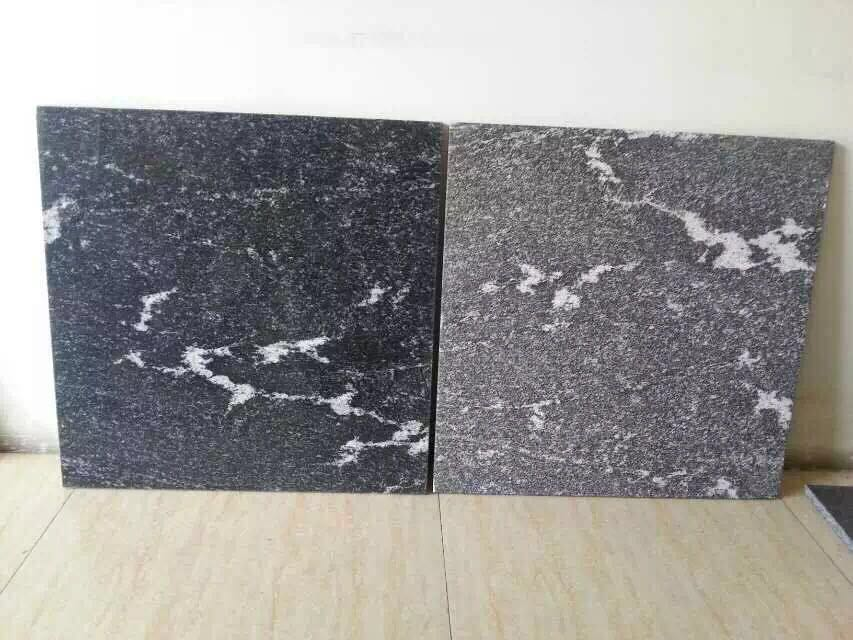 Granite snow grey tiles