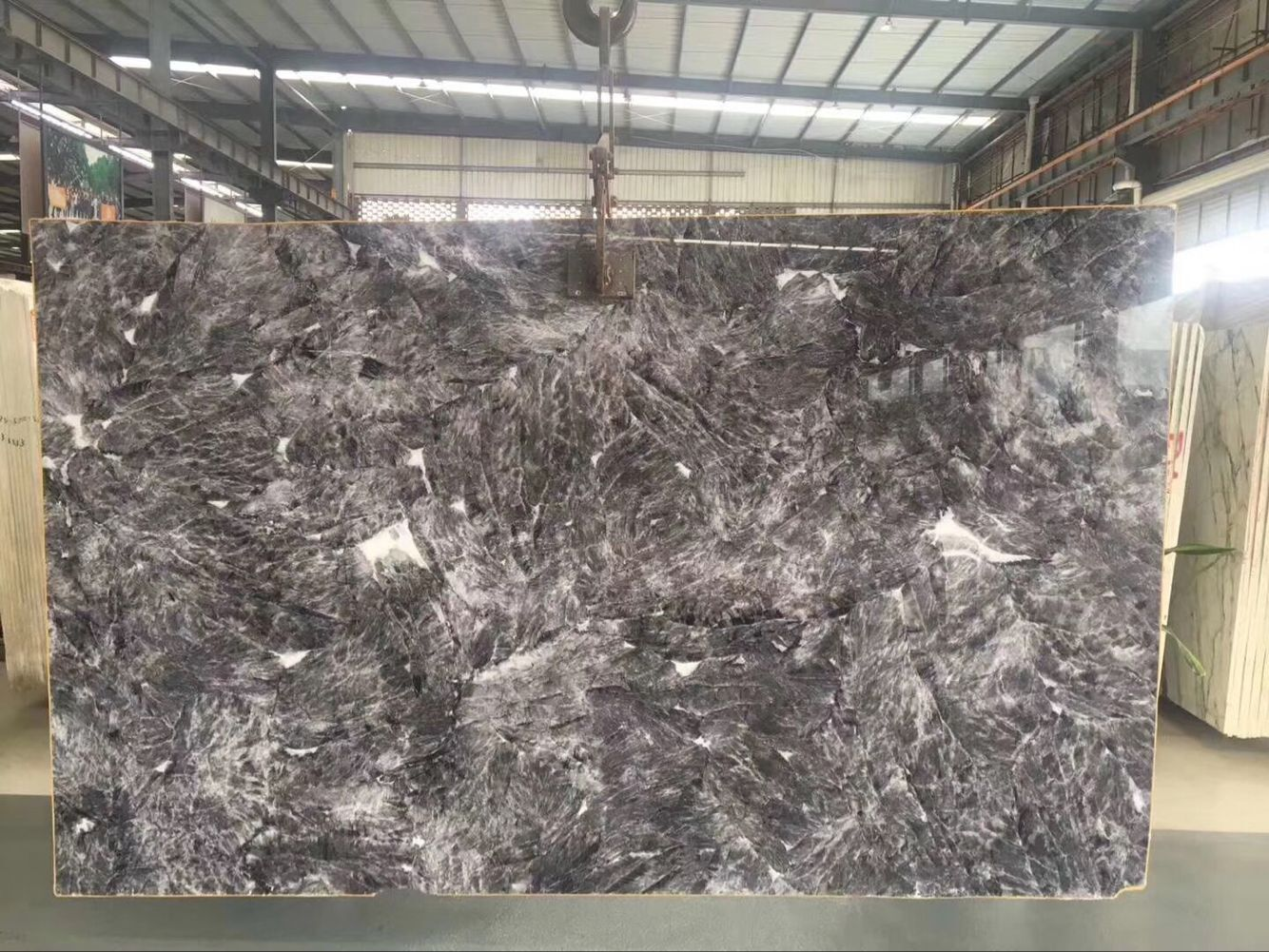 China Snowy Mountain Grey Fox Granite