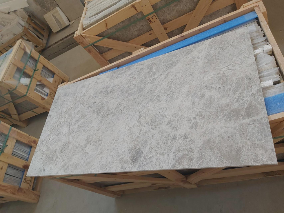 Sonic Grey Marble Honed finished
