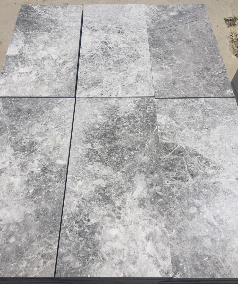 Sparta Grey Marble Tiles