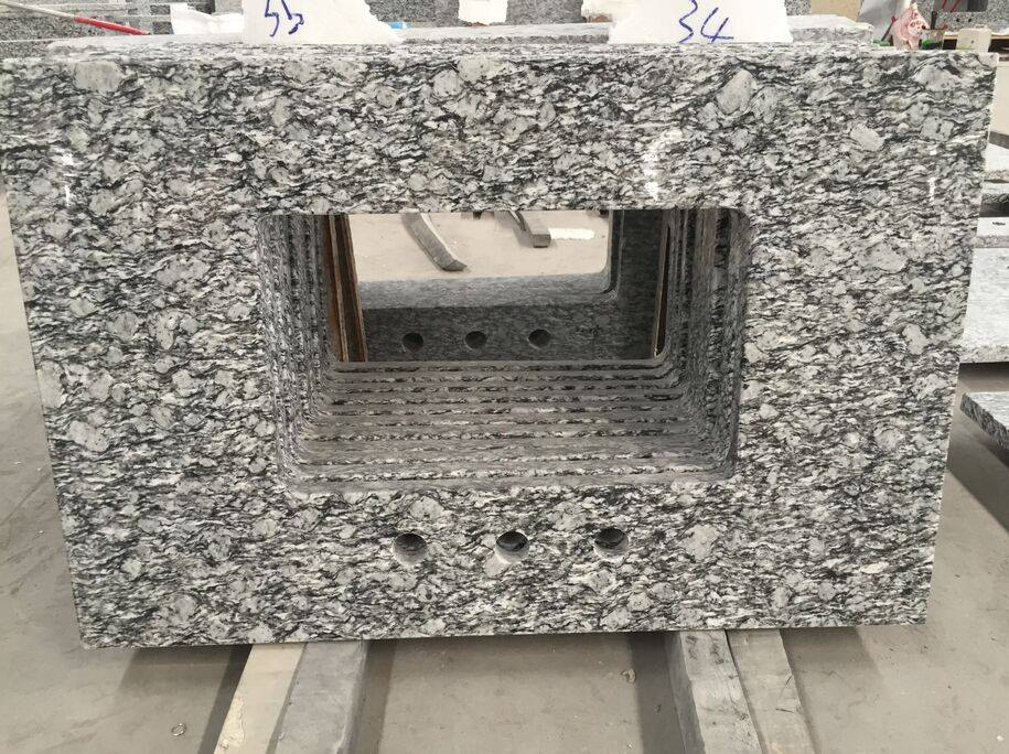 Surt white granite vanity top