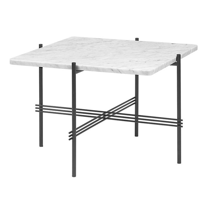 Rectangle Folding Carrara White Marble Tabletop