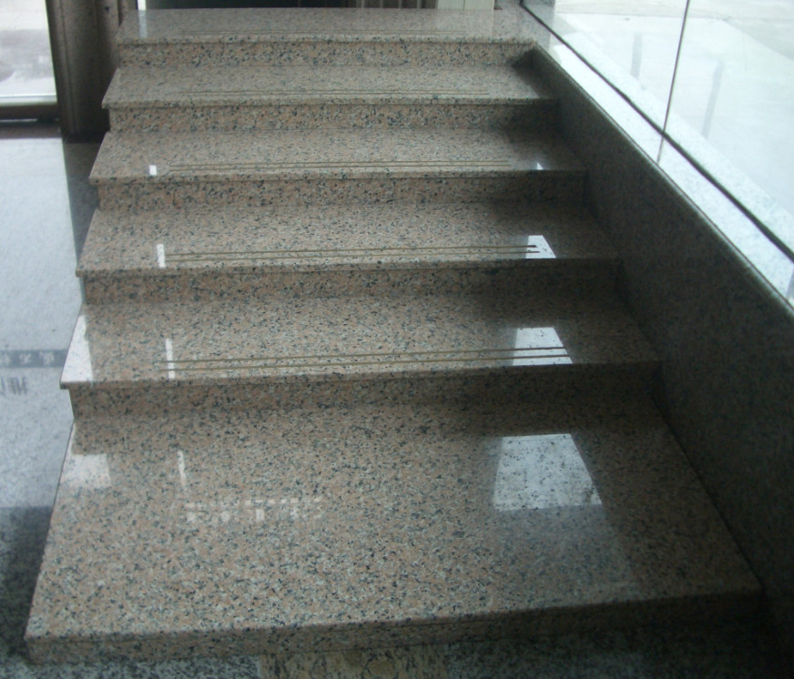Pink Granite Stairs Polished Granite Stairs