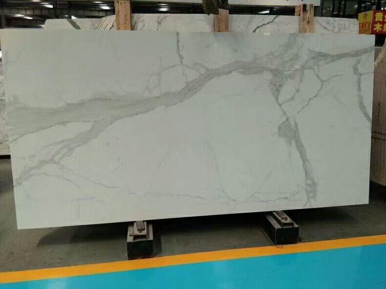 Statuario Venato White Marble Slabs