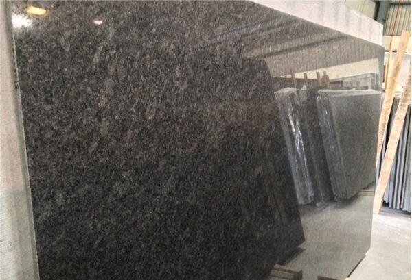 Steel Grey Granite Stone 2cm and 3cm polished slabs India Gray Granite