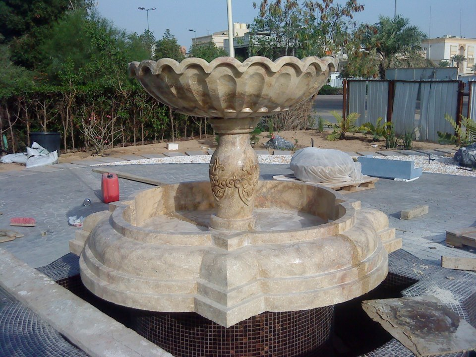 Indian Marble Stone Fountain