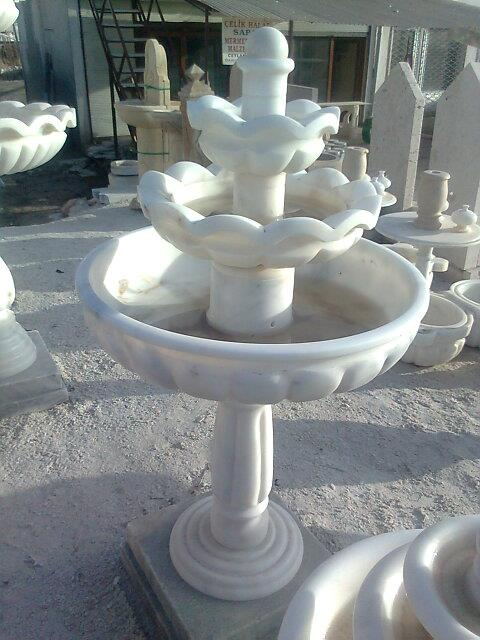 Affordable White Marble Stone Fountain