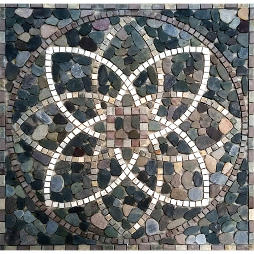 The floor ground center Mosaic pattern tile