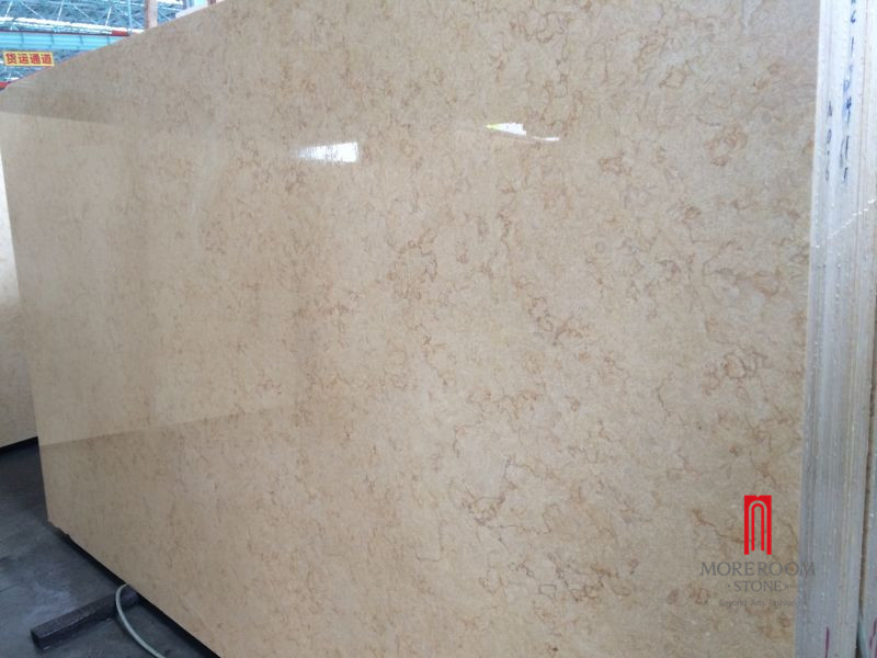Galala and sunny beige marble