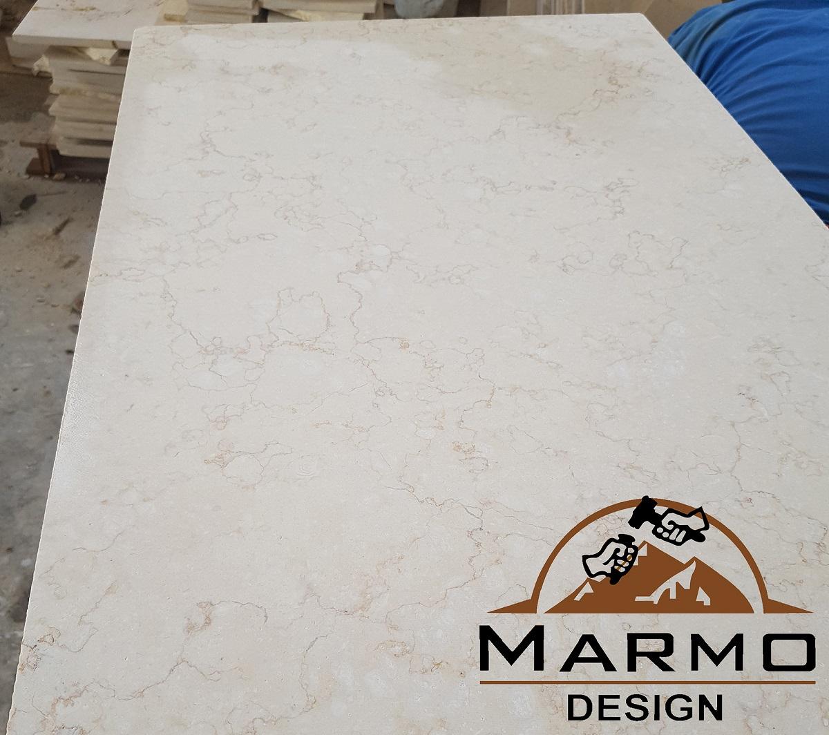 Sunny Light Tiles Honed Marble Flooring Tiles