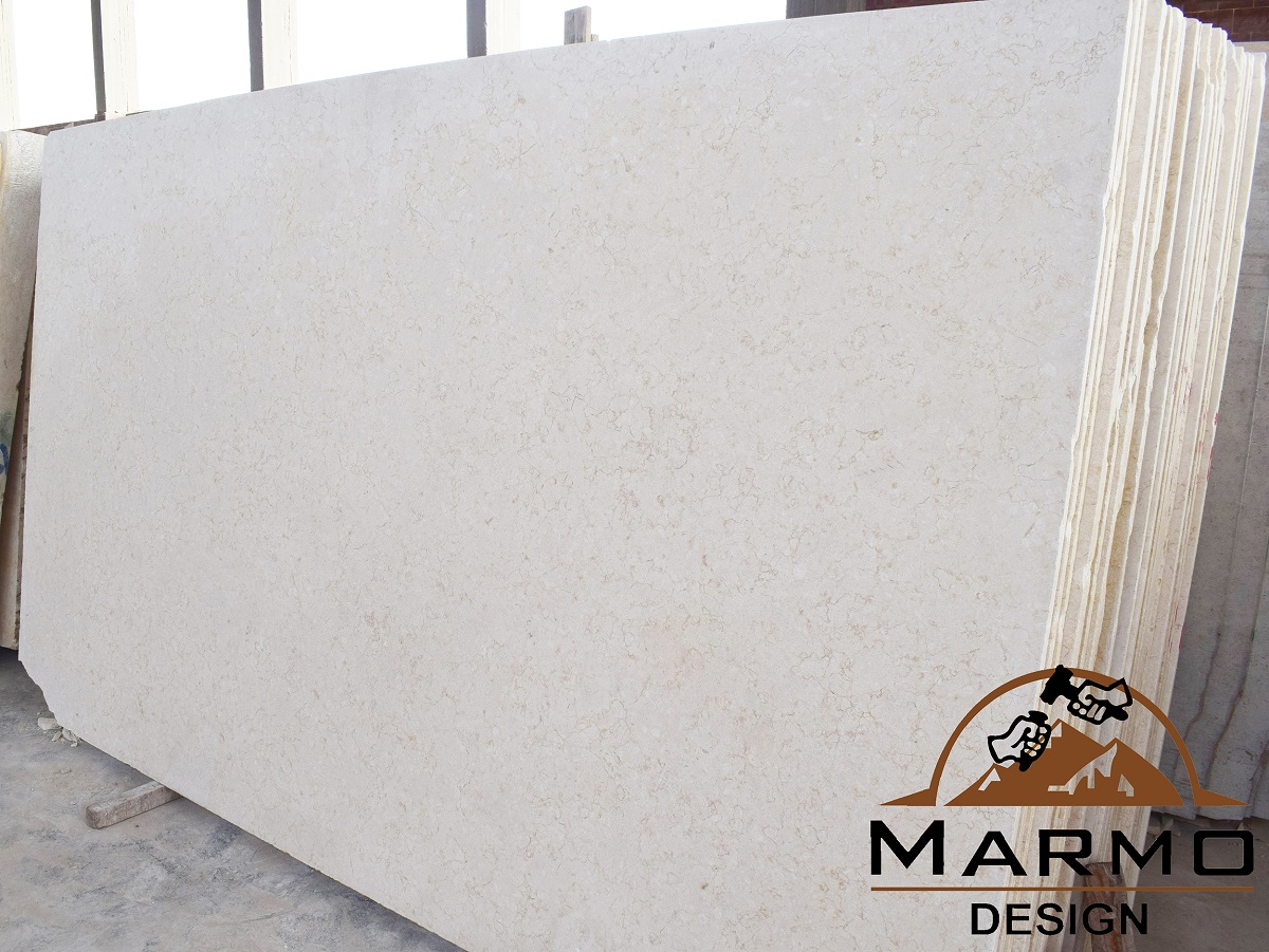 Sunny Light Honed Marble Slabs