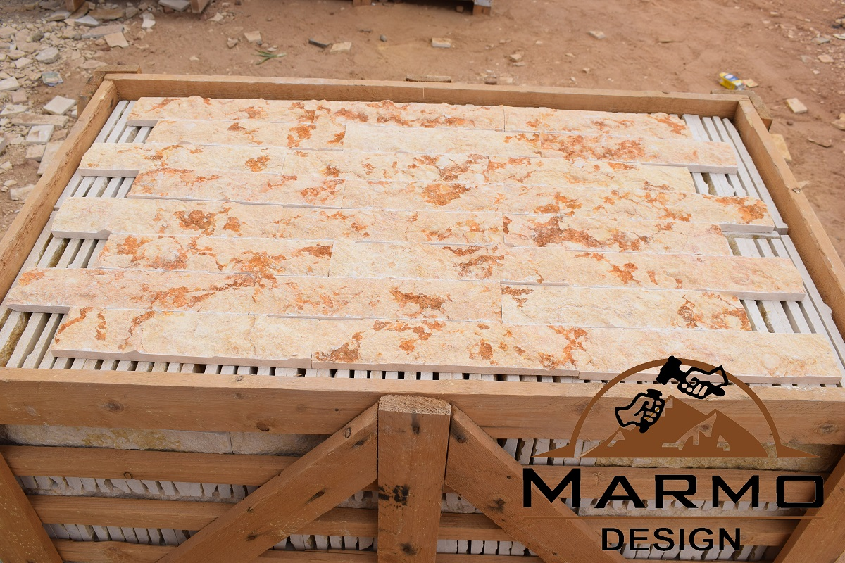 Sunny Medium Marble Beige Egyptian Marble Culture Stone
