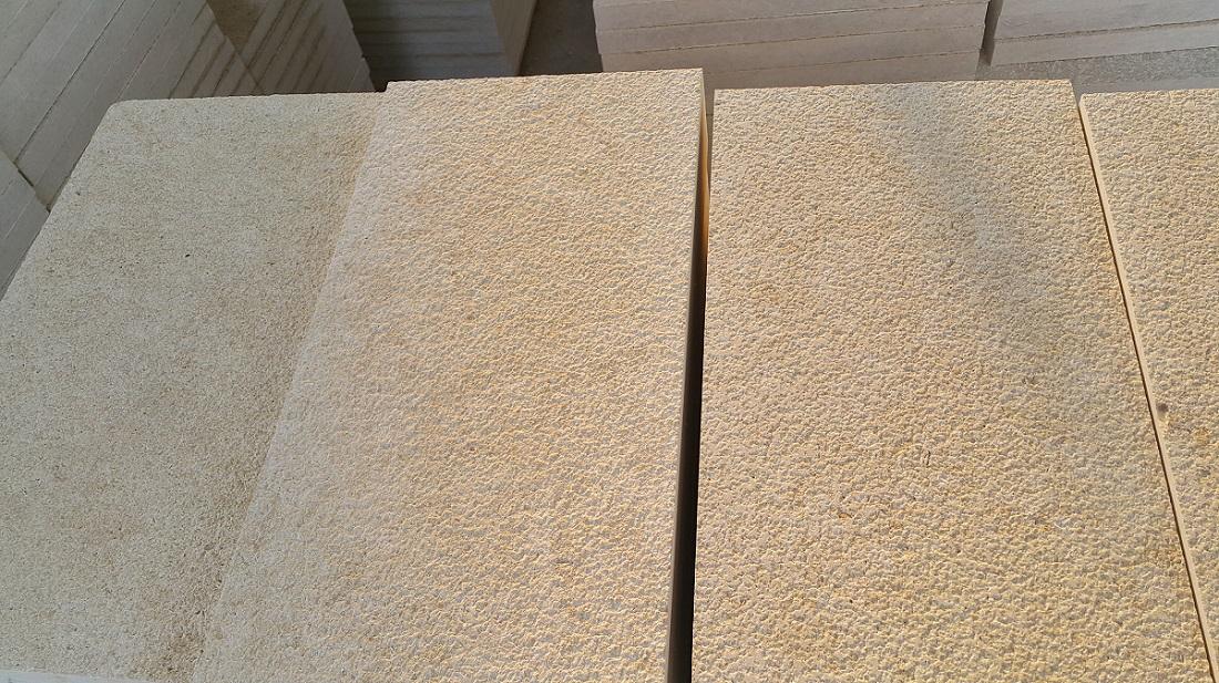 Sunny Menia Marble Bushhammered Beige Tiles