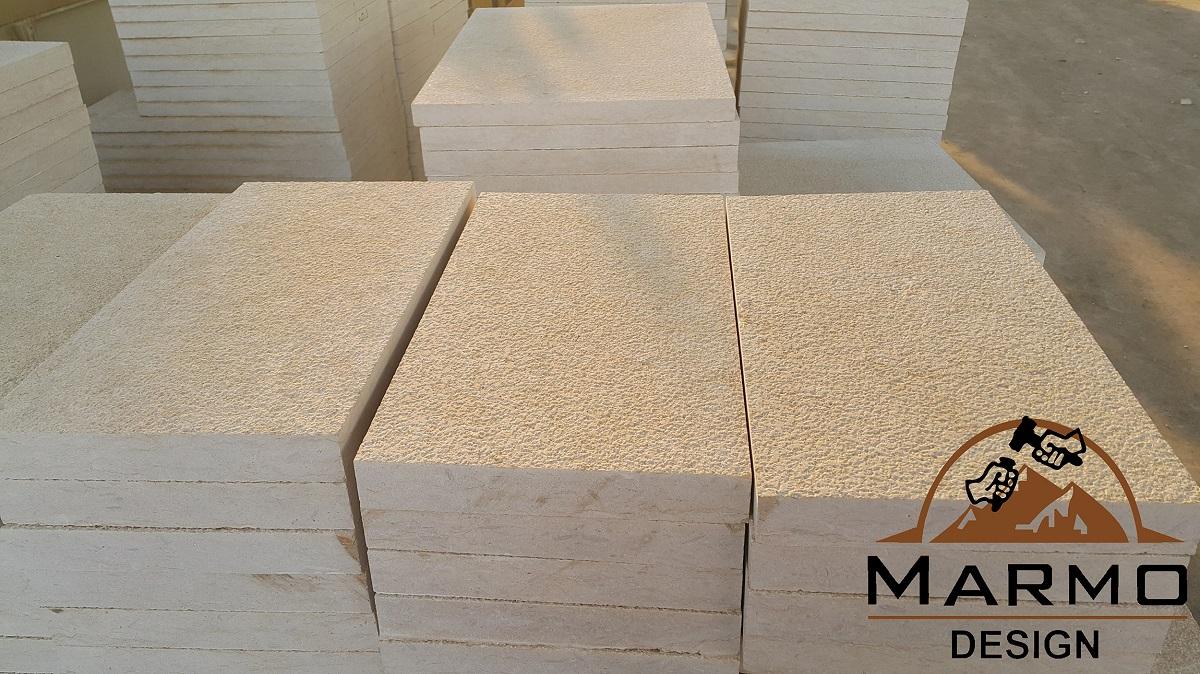 Sunny Menia Marble Bushhammered Flooring Tiles