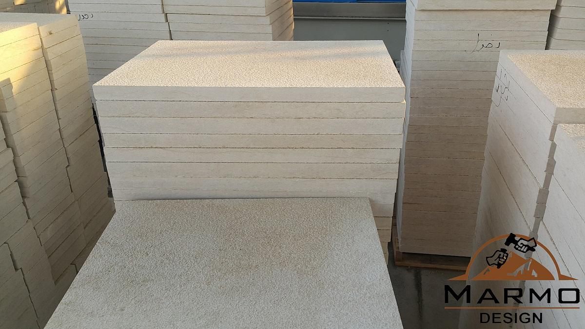 Sunny Menia Marble Bushhammered Tiles