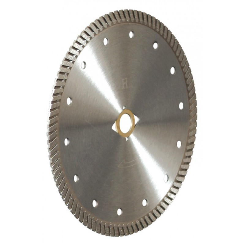Cold pressed granite marble cutting circular rim saw blade