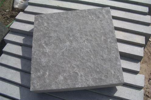 Dark grey paver stone