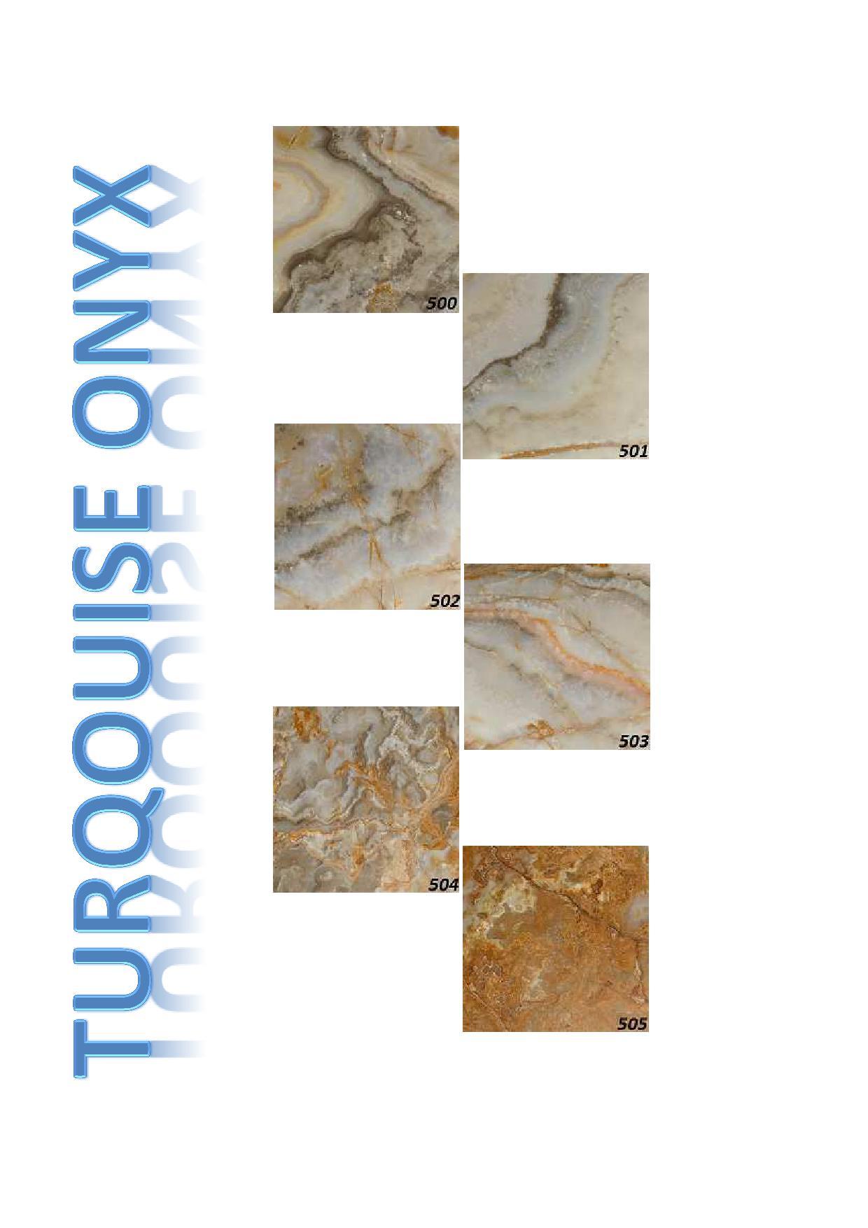 Turqouise onyx