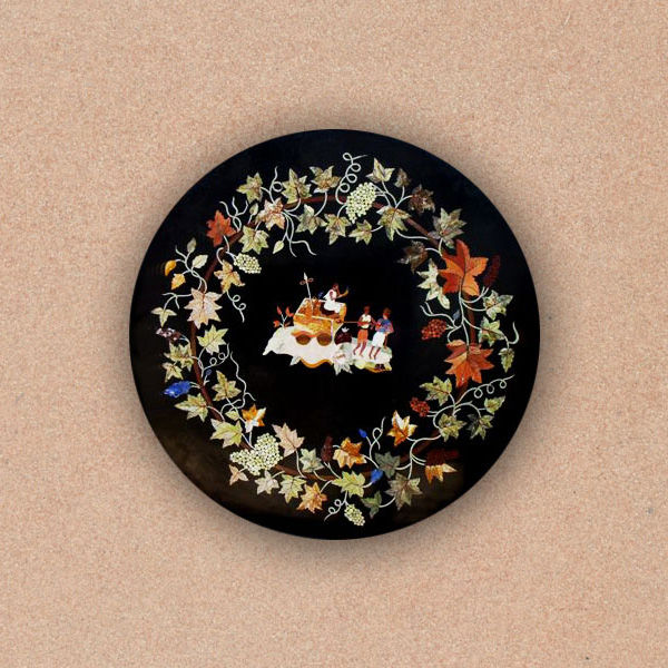 Decorative Round Tabletop