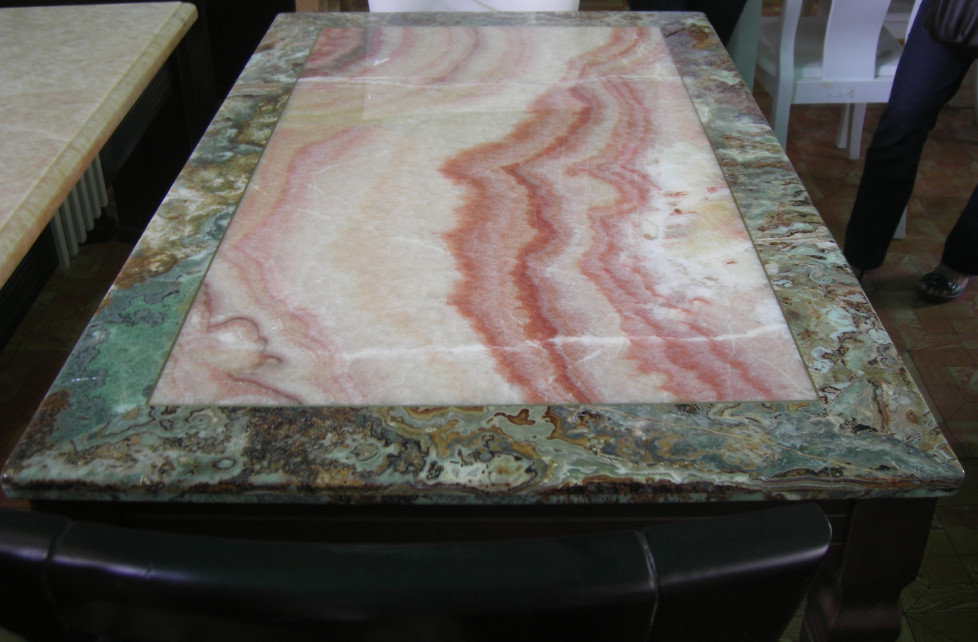 Polished Onyx Table