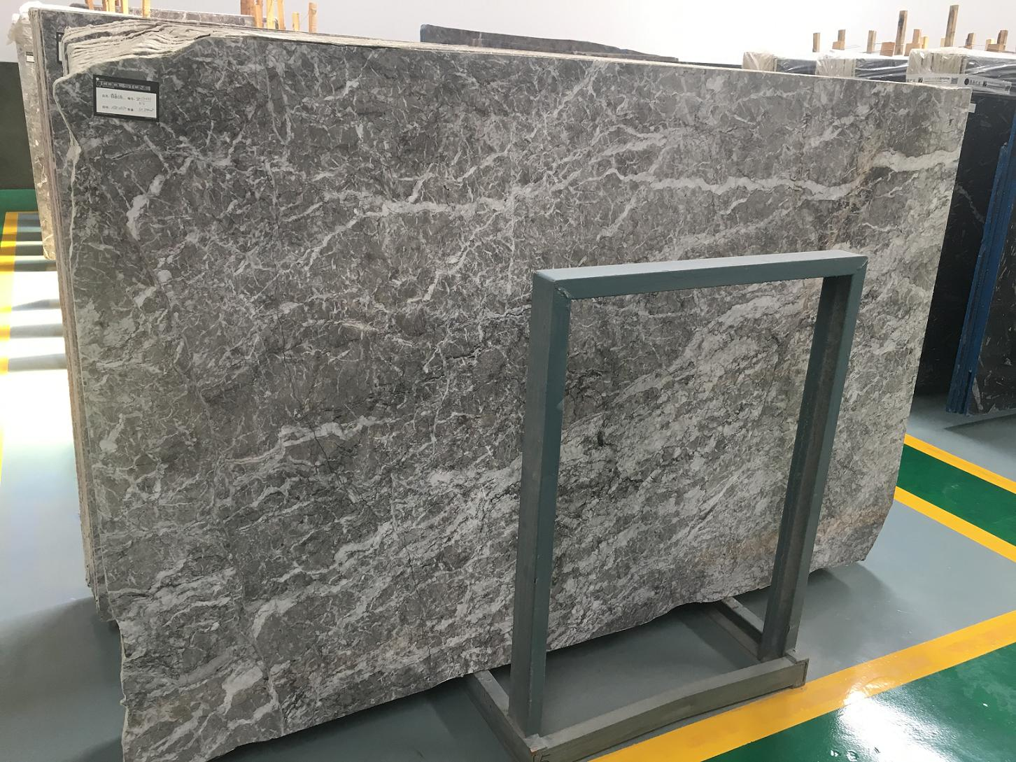 Tafrry Gray Marble Tiles & Slabs Grey Polished Marble Floor Covering Tiles