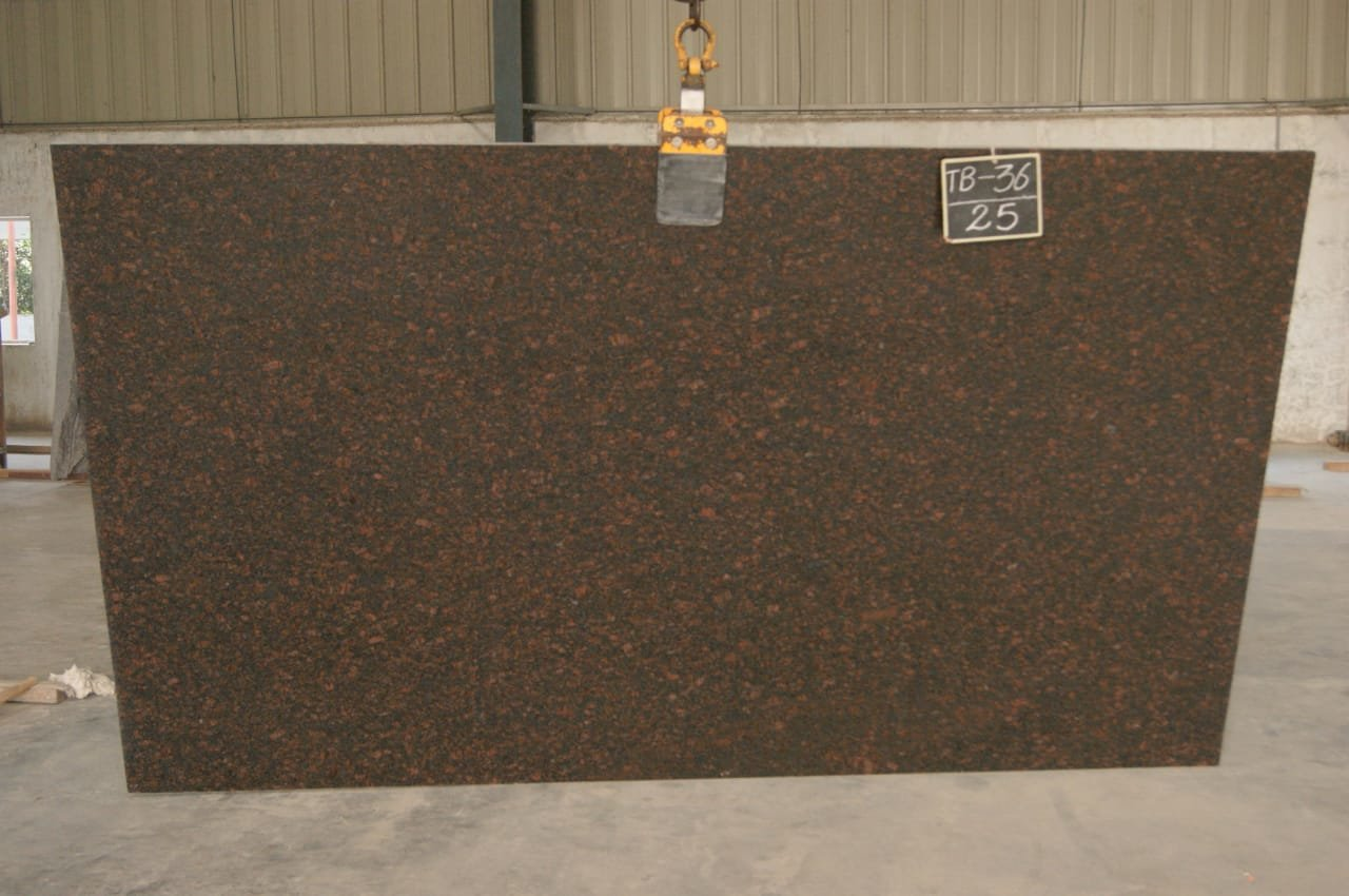 Tan Brown Granite Gang Saw Size