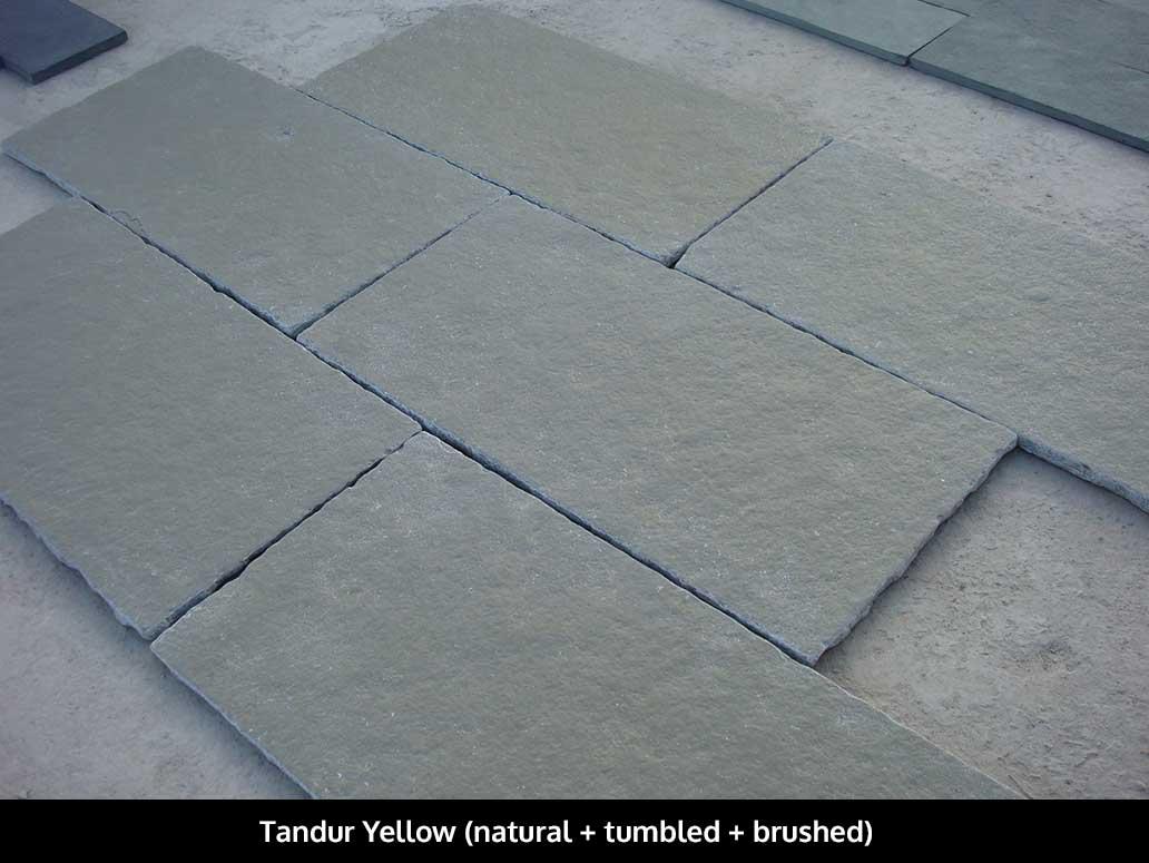 Tandur Yellow Limestone Tiles