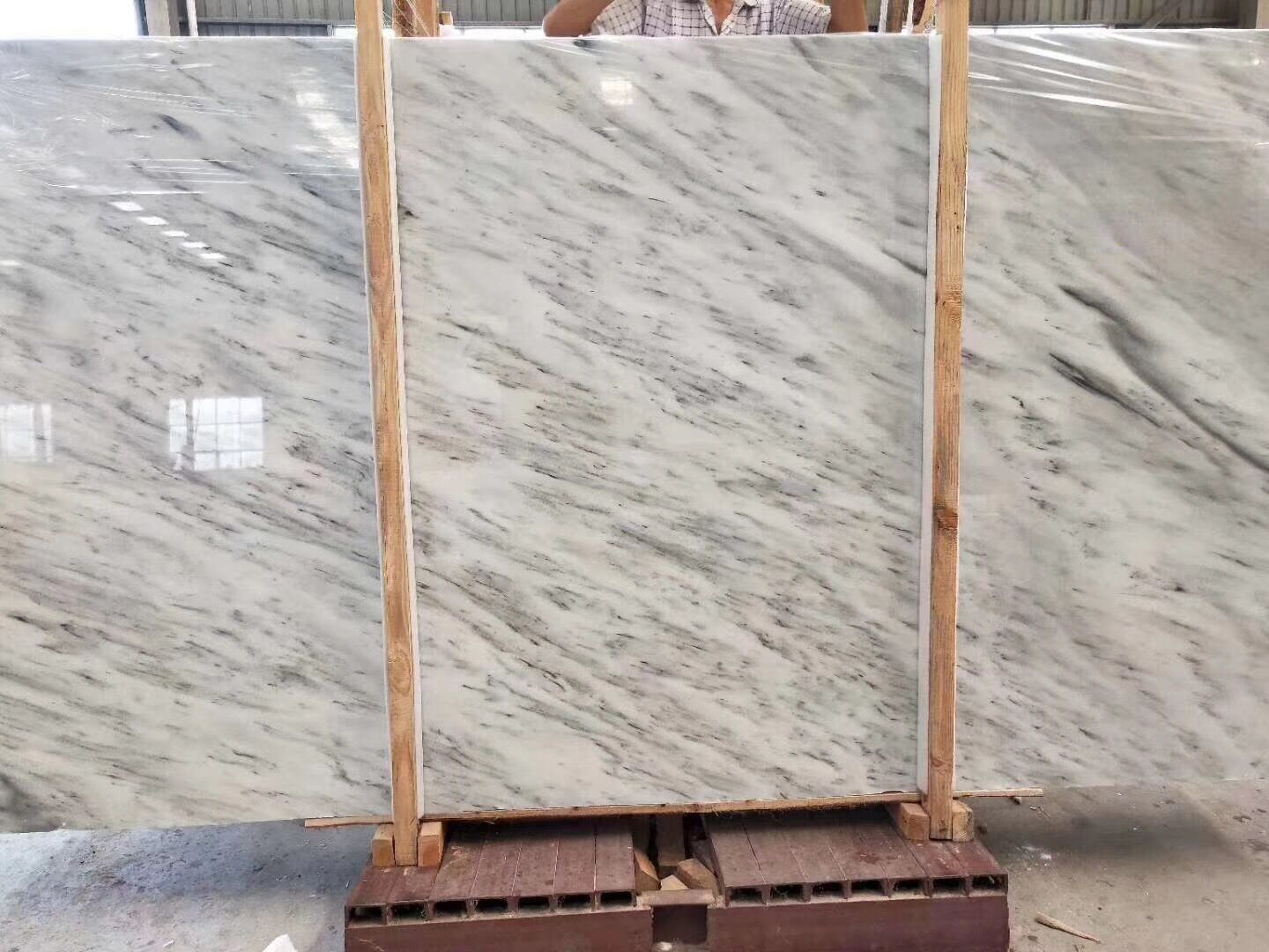 Telas White Marble Slab & Tiles White Polished Marble Floor Tiles Wall Tiles