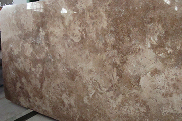 Polished Noce Travertine Slabs Filled
