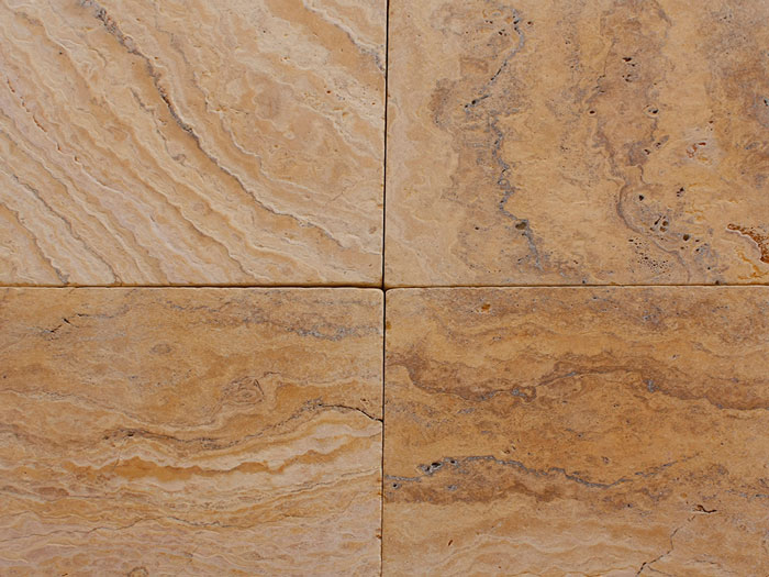 Tumbled Yellow Travertine