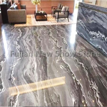 Tesla marble tile