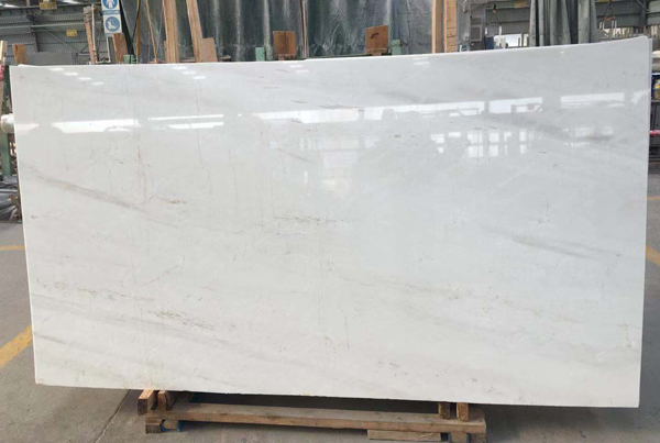 Greek Thassos Crystal White Marble Slab