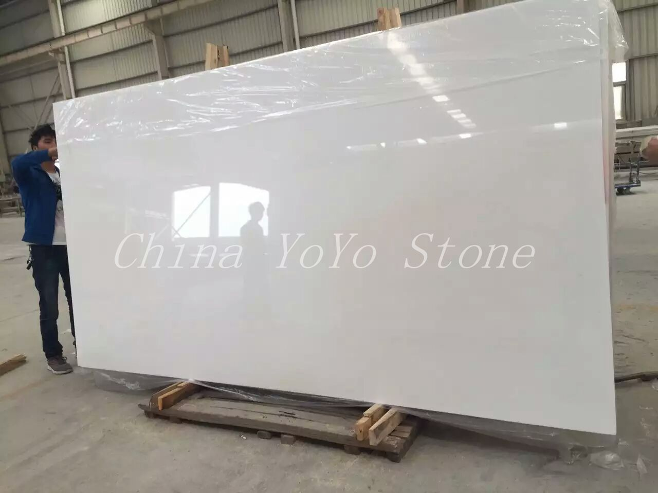 Pure White Thassos White Marble Slab