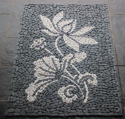 The floor ground center Mosaic pattern tile