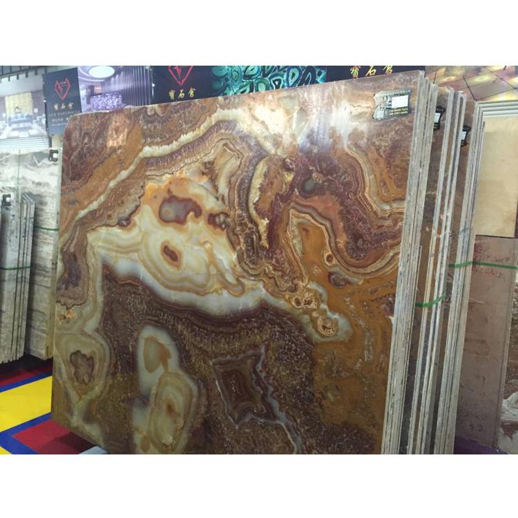 Tiger Onyx Marble Slab