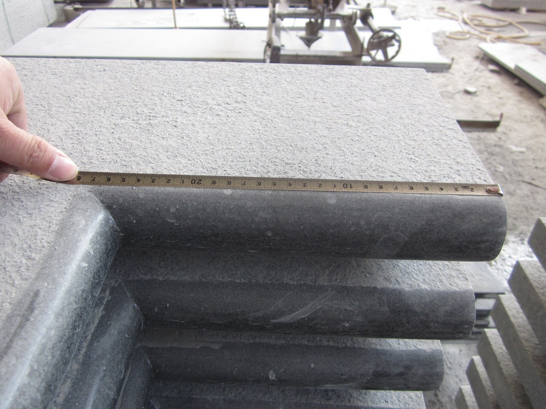 Tile for pool coping