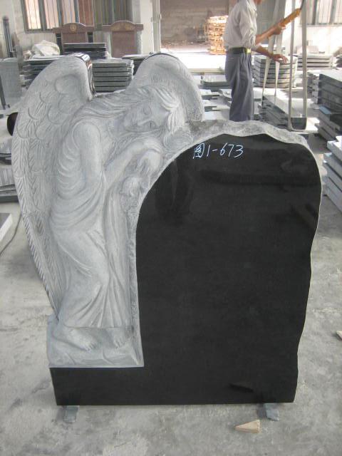 Shanxi Black tombstones Gravestone Headstone