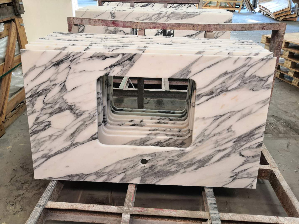 Top Quality Arabescato White Marble Countertops