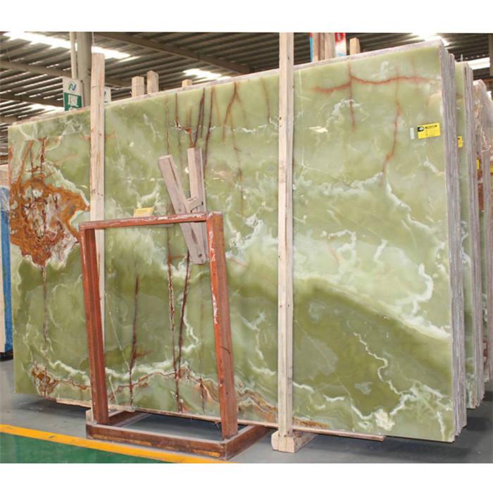 Natural Polish Green Onyx For Walling
