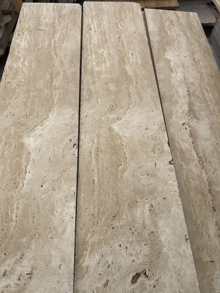 Travertine Stair Treads and Risers