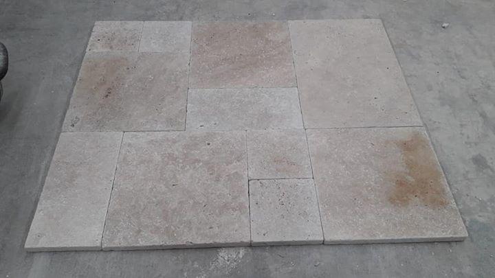 Travertine Tiles for Paving