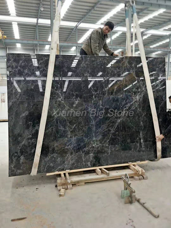 Turkey Dark Grey Marble Slab