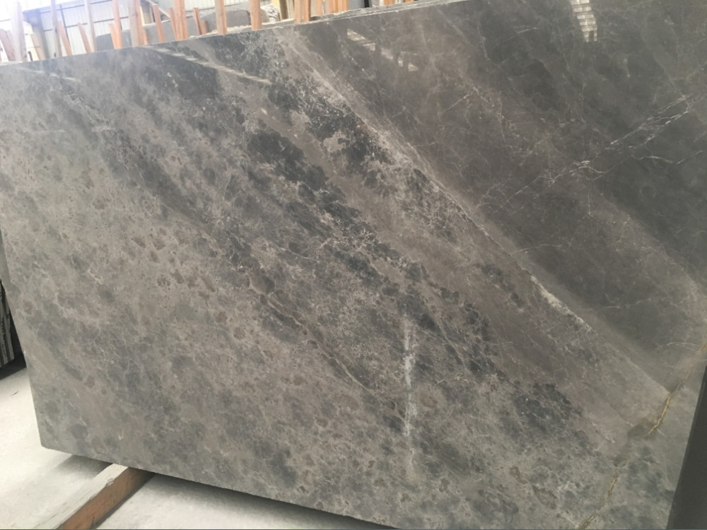 Turkey Grey Marble Grey Polished Slabs