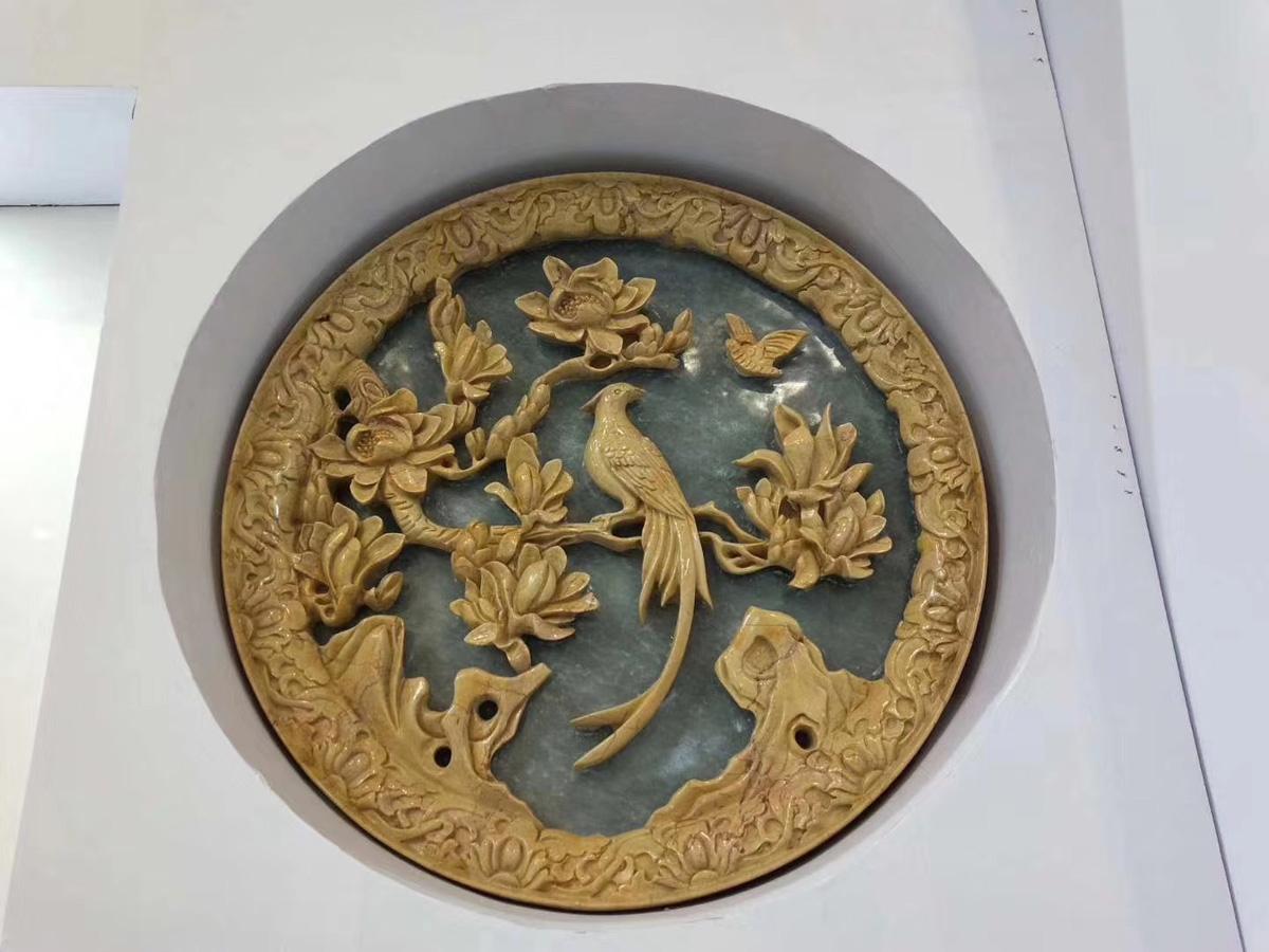 Turkish Beige Rose Marble Carvings