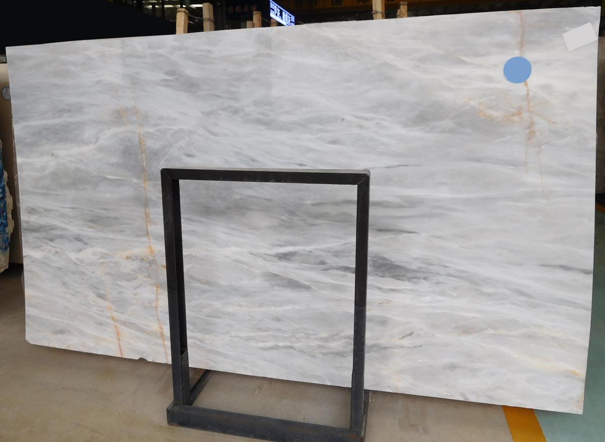 Turkish Grey Marble Slabs Polished Slabs for Decor