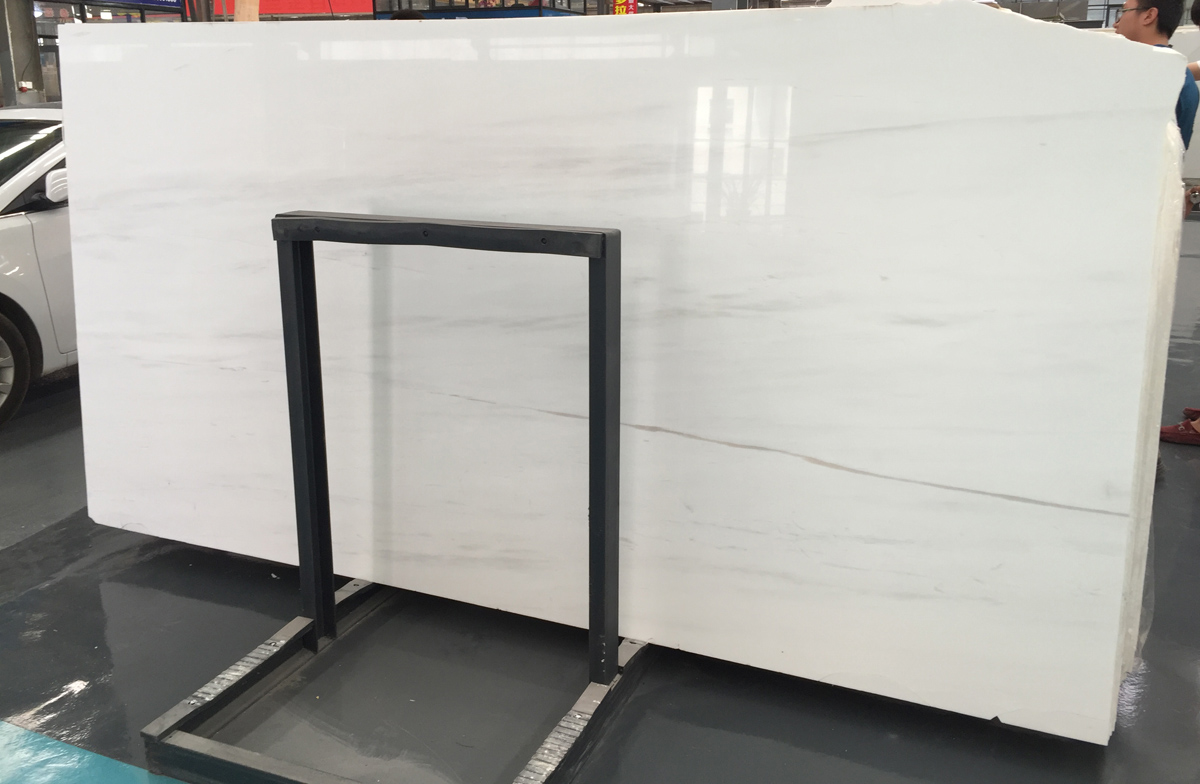 Turkish Star White Marble Slabs Polished
