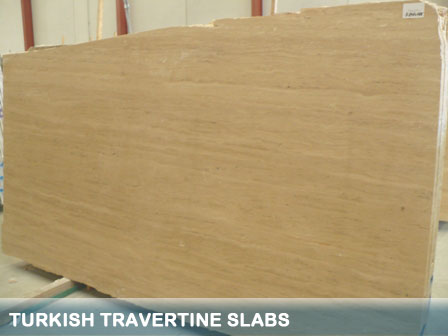 Turkish Travertine Slabs