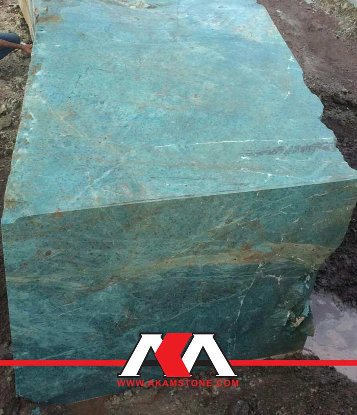 Turquoise Granite Blocks