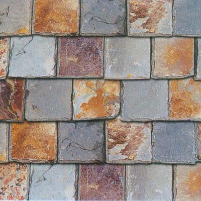 Slate tile natual edge